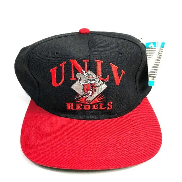 6fba9e27739 VTG Signatures UNLV Rebels Snapback Hat